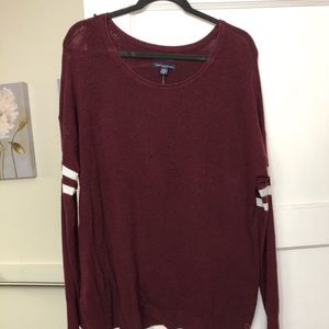 American Eagle Burgundy Sweater - New With Tags